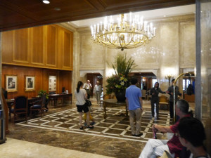 ホテルニューグランドのロビー