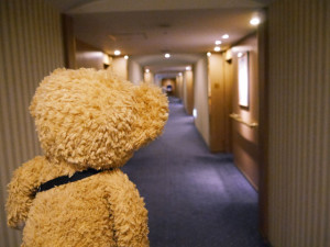 ホテルニューグランドの廊下
